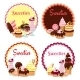 Sweet Badges - GraphicRiver Item for Sale