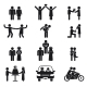 Relationship and Wedding People Icon Set - GraphicRiver Item for Sale