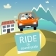 Ride to the Countryside - GraphicRiver Item for Sale