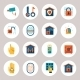Real Estate Protection Icons - GraphicRiver Item for Sale