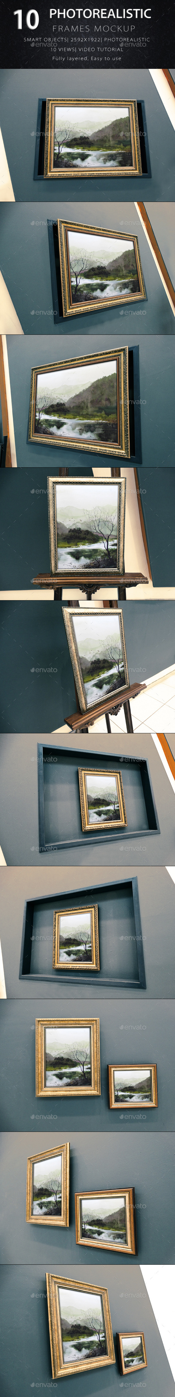 GraphicRiver Photorealistic Frame Mock Up Vol.3 9195780