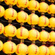 Wall of Yellow Lanterns - PhotoDune Item for Sale