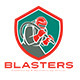 Blasters Sandblasting Services Logo - GraphicRiver Item for Sale