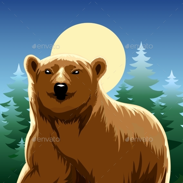 GraphicRiver Brown Bear 9195987