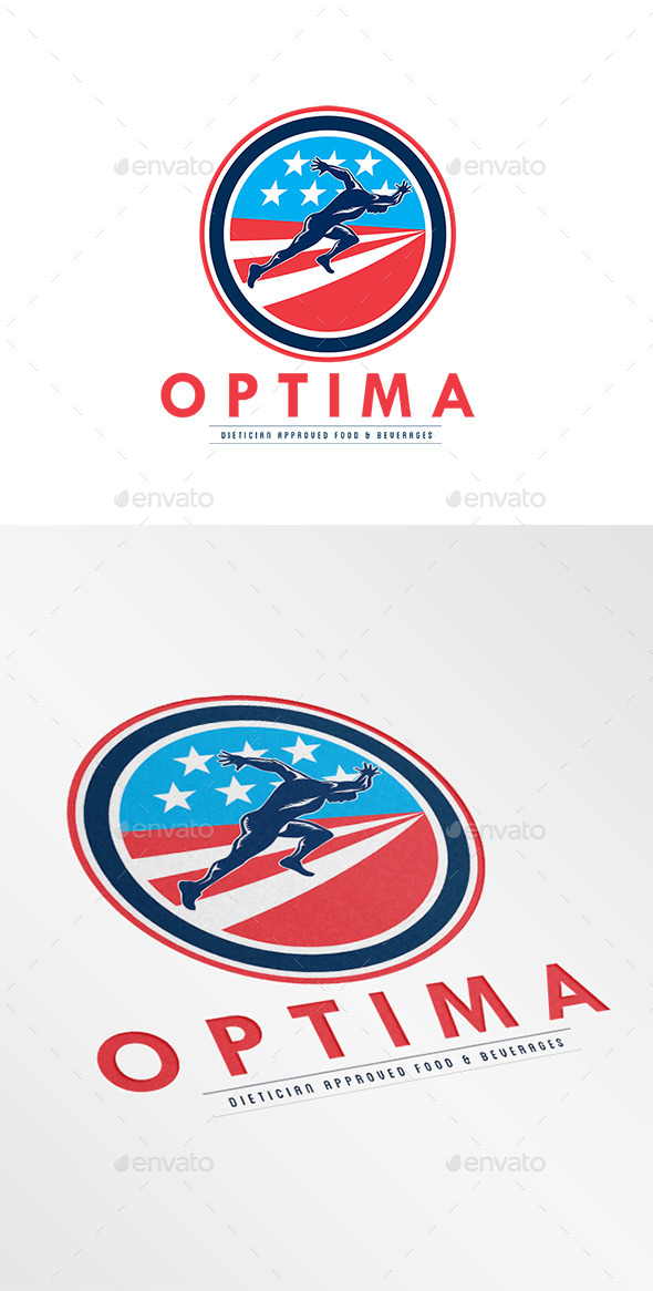 GraphicRiver Optima Food and Beverages Logo 9196061
