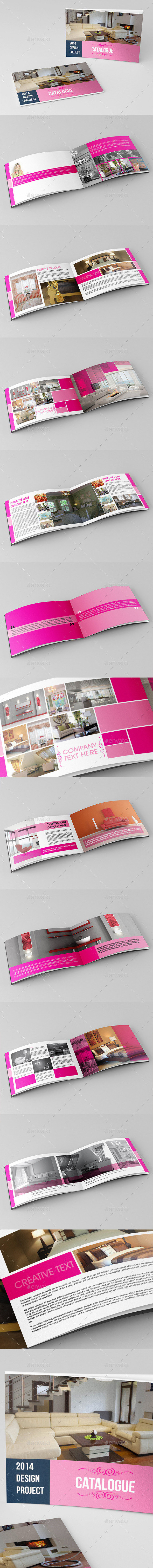 GraphicRiver Corporate Business Catalog Template 9196062