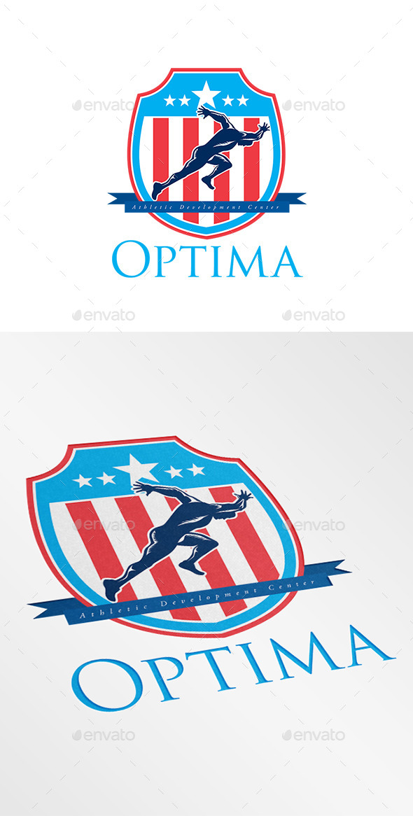 GraphicRiver Optima Athletic Development Center Logo 9196074