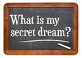 What is my secret dream ? - PhotoDune Item for Sale