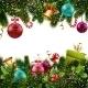 Christmas Decoration Border - GraphicRiver Item for Sale