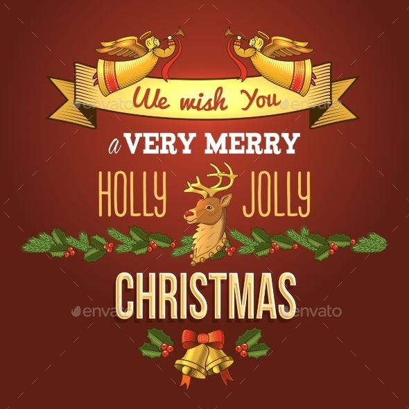 GraphicRiver Christmas Ornament Card 9196127