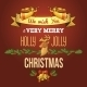 Christmas Ornament Card - GraphicRiver Item for Sale