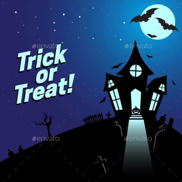 GraphicRiver Halloween Background 9196159