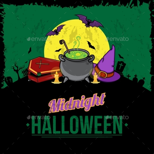 GraphicRiver Halloween Background 9196160