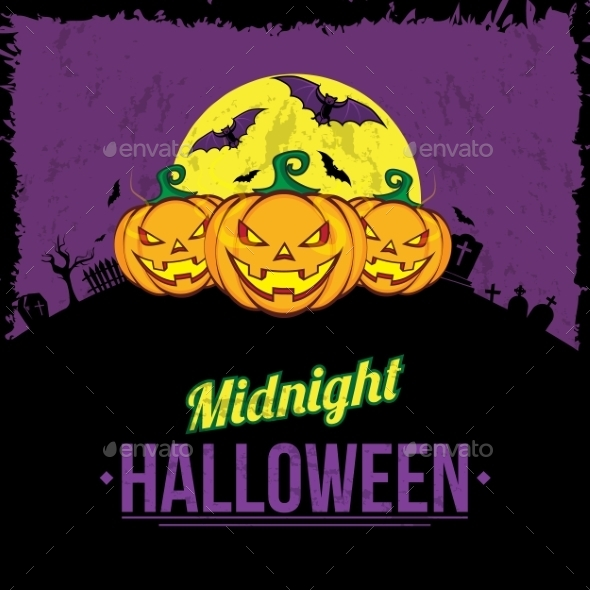 GraphicRiver Halloween Background 9196163