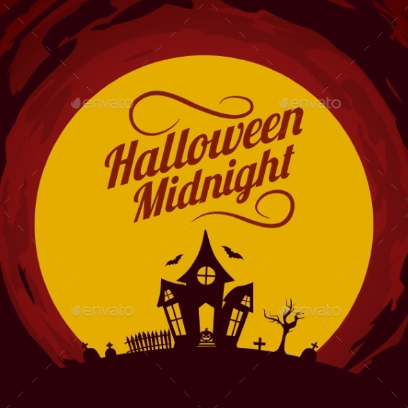 GraphicRiver Halloween Background 9196190