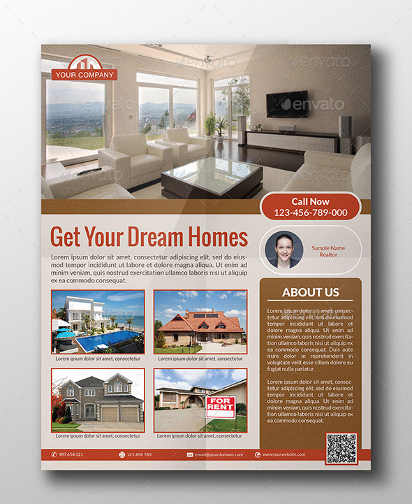 GraphicRiver Real Estate Flyer 9196220