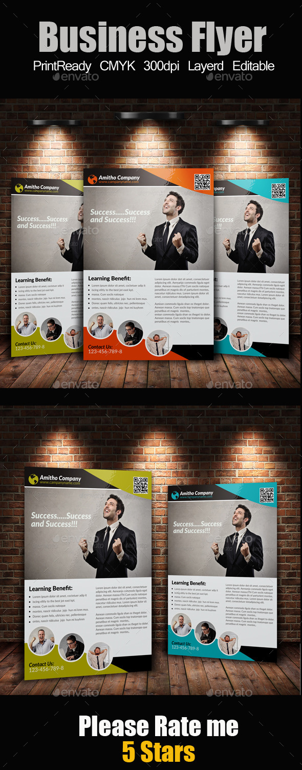 GraphicRiver A4 Business Flyer 9158999