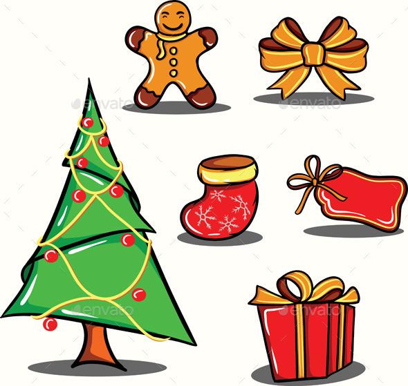 GraphicRiver Christmas Element Vol 3 9196833