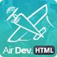 Air Dev - One Page Parallax Site Template - Corporate Site Templates