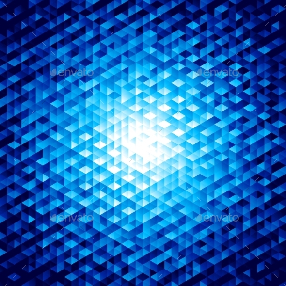 GraphicRiver Abstract Background with Hexagons 9196991