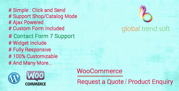 CodeCanyon WooCommerce Quote Request or Enquiry 9197016