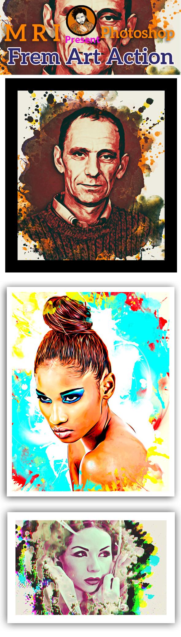 GraphicRiver Frem Art Action 9197222