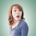 Surprised Asian woman - PhotoDune Item for Sale