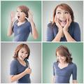 Asian woman face - PhotoDune Item for Sale