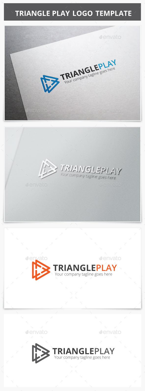 GraphicRiver Triangle Play Logo 9197292