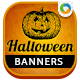 Halloween Sale Banner Design Set - GraphicRiver Item for Sale