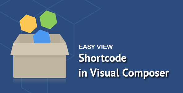 Easy View Shortcode in Visual Composer
