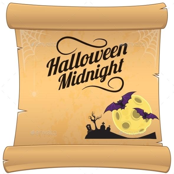 GraphicRiver Halloween Background 9197545