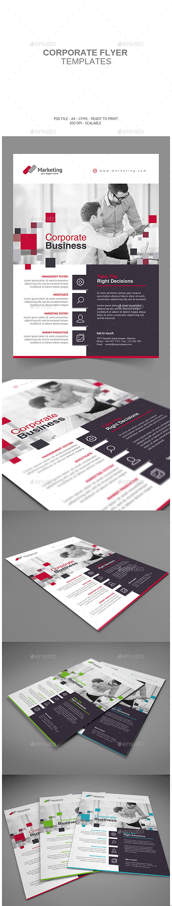 GraphicRiver Corporate Flyer 9197587