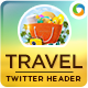 Travel Twitter Header - GraphicRiver Item for Sale