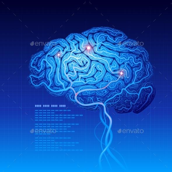 GraphicRiver Brain 9197657