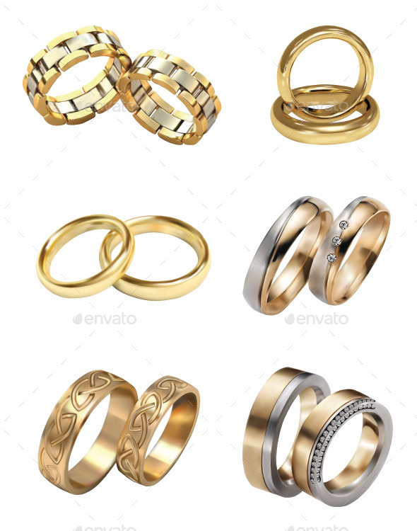 GraphicRiver Wedding Rings 9197701