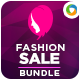 Fashion Banners Bundle - 4 Sets - GraphicRiver Item for Sale