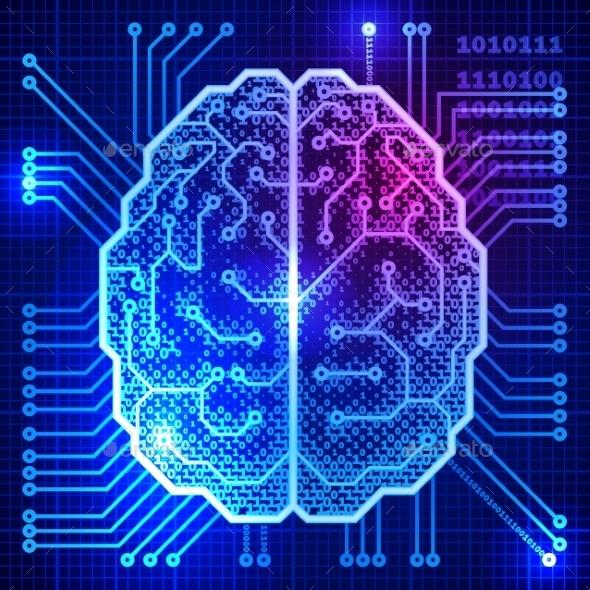 GraphicRiver Cyber Brain 9197724