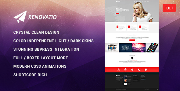 ThemeForest Renovatio Reinvent Yourself 9031832