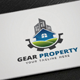Gear Property Logo - GraphicRiver Item for Sale