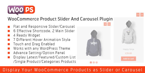 CodeCanyon WOOPS WooCommerce Product Slider and Carousel 9198073