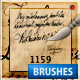 old hand writing - brush - GraphicRiver Item for Sale