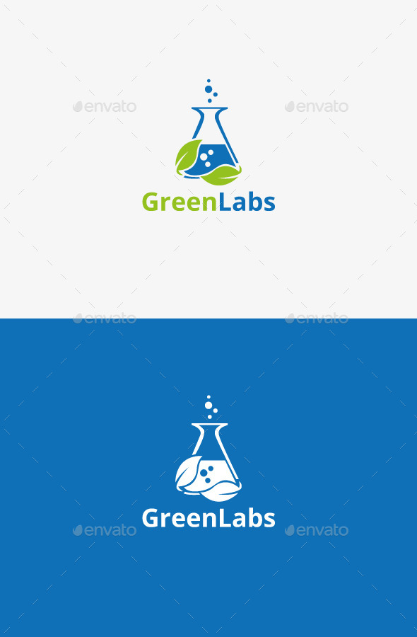 GraphicRiver Green Labs 9198083
