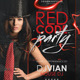 Red Code Party Flyer Template - GraphicRiver Item for Sale