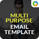 Multi Purpose Newsletter Template - GraphicRiver Item for Sale