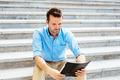 Man reading documents - PhotoDune Item for Sale