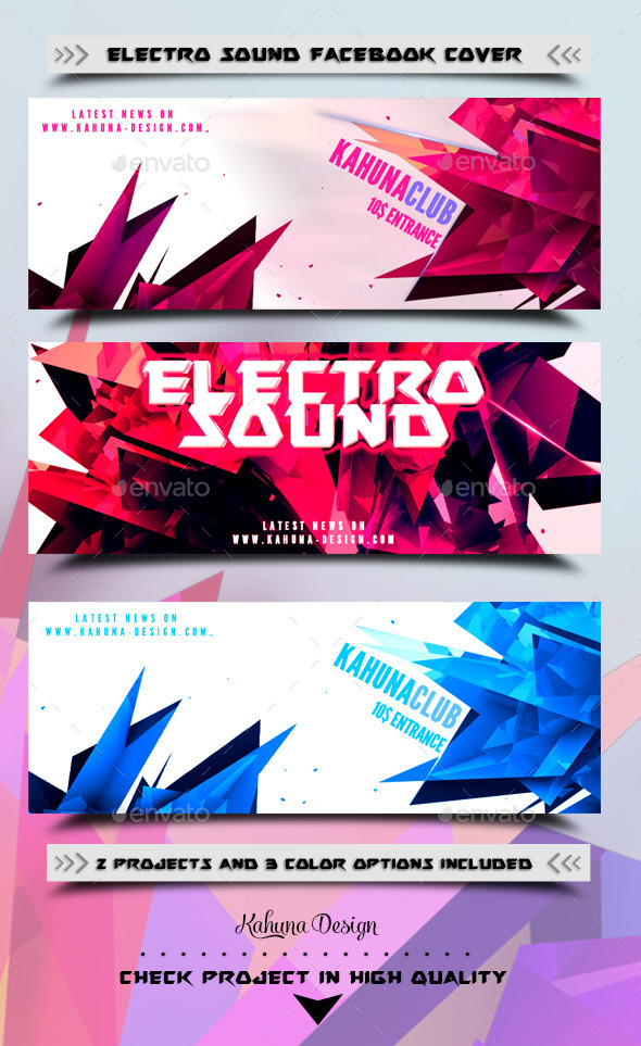 GraphicRiver Electro Sound Fb Cover 9198513