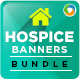 Hospice Banners Bundle - 3 Sets - GraphicRiver Item for Sale