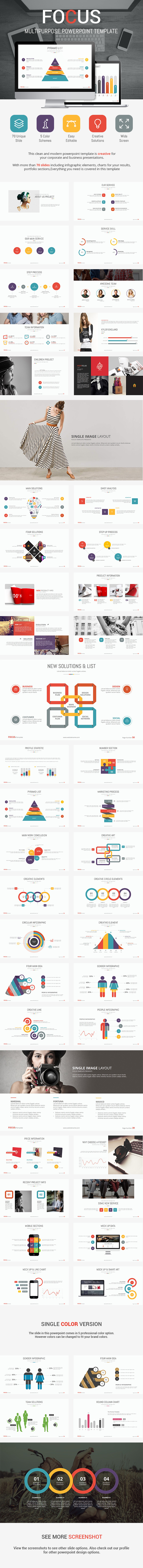 GraphicRiver Focus Presentation Template 9198891