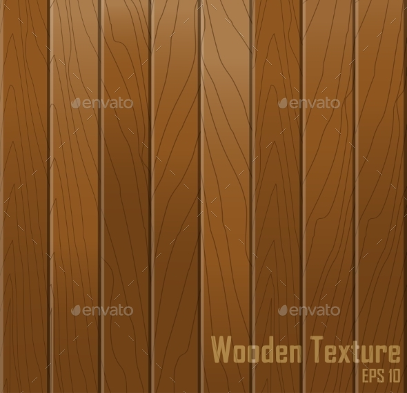 GraphicRiver Wooden texture Vector background 9198886